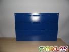 ZESTAW WARSZTATOWY - stalowa płyta + 20 pojemników ecobox m - 4