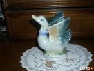 FIGURKA kaczki z porcelany - 3