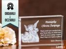 Pamiątka Chrztu Świętego w krysztale - GRAWER 3D Bydgoszcz