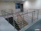 balustrady ogrodzenia schody nierdzewne aluminiowe - 1