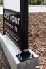 Pylon informacyjny LED z wymiennymi polami - super cena - 4