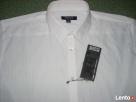 New Yorker Biała Koszula SREBRNE paski NOWA L i XL impreza - 2