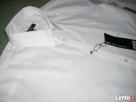 New Yorker Biała Koszula SREBRNE paski NOWA L i XL impreza - 4