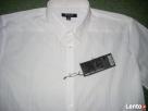 New Yorker Biała Koszula SREBRNE paski NOWA L i XL impreza - 5