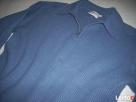 Wełniany sweter męski Ciepły Gruby wełna M - 4