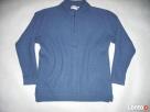 Wełniany sweter męski Ciepły Gruby wełna M - 2