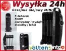 Grzejnik Olejowy OlejakiK MINI 500W FARELKA PIEC Baranów Sandomierski