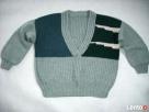 Gruby sweter oversize robiony na drutach 40 42 Nowy Sącz