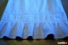 Biała spódniczka bawełna MIDI 40 H&M - 2