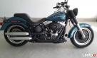 Harley Davidson FLSTF, fat boy jak Nowy Warszawa
