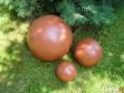 Sprzedam kule ogrodowe, ceramiczne, mrozoodporne 39,28,16 cm - 2