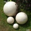 Sprzedam kule ogrodowe, ceramiczne, mrozoodporne 39,28,16 cm - 3