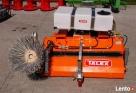 Zamiatarka komunalna 1,8m TALEX boczna szczotka zbiorniki Górno