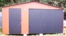 Garaż Blaszany 5x6 Dwuspadowy Tarnów