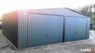 Garaż blaszany blaszak 7x6 KOLOR dwuspad PRODUCENT - 8