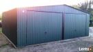 Garaż blaszany blaszak 7x6 KOLOR dwuspad PRODUCENT - 1