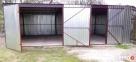 Garaż Blaszany Blaszak Garaże Hale Wiaty 7x6 BLACHMAR - 4