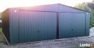 Garaż blaszany blaszak 7x6 KOLOR dwuspad PRODUCENT - 7