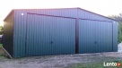 Garaż blaszany blaszak 7x6 KOLOR dwuspad PRODUCENT - 5