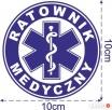 Naklejki ratownik medyczny lub ratownictwo medyczne Bytów
