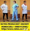 Odzież Robocza i Medyczna dla DYNOWA szyta w firmie RATES Dynów