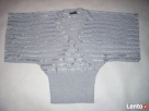 Srebrny Srebrzysty sweterek kopertowy J NOWY 36 38 - 2