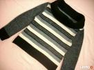 SZary Ciepły Sweter z Golfem Szerszym J Nowy 36 Nowy Sącz