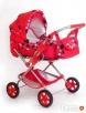 Wózek lalkowy uniwersalny z przekładaną rączką - NOWY- - 6