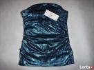 Tally Weijl Błyszcząca bluzka impreza Granat Blue Nowa 34 36 Nowy Sącz