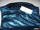 Tally Weijl Błyszcząca bluzka impreza Granat Blue Nowa 34 36 - 5