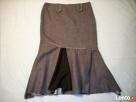 AE Woman Ciepła Spódnica Wełna Melanż 42 XL 44 - 1
