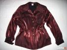 Wizytowa Koszula Błyszcząca Święta j Nowa 40 42 - 1