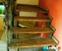 Schody - rustykalne, postarzane, rzeźbione - 3
