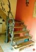 Schody - rustykalne, postarzane, rzeźbione - 4