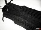 KAMIZELKA sweterek Narzutka NOWA Błyszcząca Nić M L XL - 4