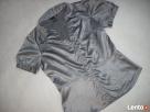 H&M koszula Elegancka Szara Satyna j NOWA 38 M - 3
