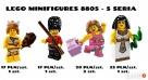 LEGO MINIFIGURES 8805 - 5 SERIA - Gwardzista, Fitness Dąbrowa Górnicza