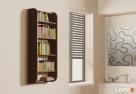 Półka Detalion na ścianę wisząca książki dvd cd pionowa - 2