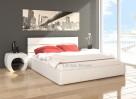 Łóżko tapicerowane + pojemnik - 1