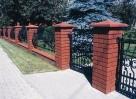 Ogrodzenia z klinkieru,betonowe, kamienia - 3