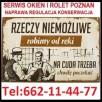 SERWIS OKIEN ROLET 662114477 NAPRAWY,REGULACJE,KONSERWACJE