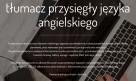 Tłumacz przysięgły jęz. angielskiego Poznań Rataje