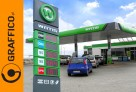 Kompleksowe oznakowanie reklamowe stacji paliw - 1