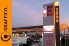 Oznakowanie, branding stacji paliw, pylony cenowe - 3