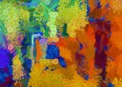 ABSTRAKCJA 10 obraz na w 100% bawełnianym płótnie 140x100
