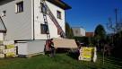 Dostarczenie materiałów budowlanych oknem balkonem gruzu - 4