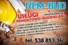 REM-BUD Stany Surowe i Kompleksowe Wykończenia Wnętrz