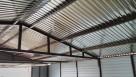 drewnopodobny garaż blaszany 5x7 wiata profil - 4