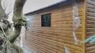 drewnopodobny garaż blaszany 5x7 wiata profil - 5