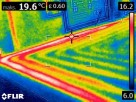 Badanie kamerą termowizyjną Rzeszów. Lokalizacja wycieku - 3